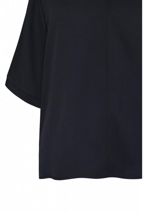 czarna bluzka Brigitte tył