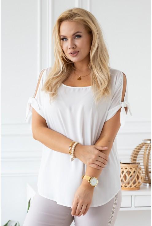 szyfonowa bluzka lariss rękawki