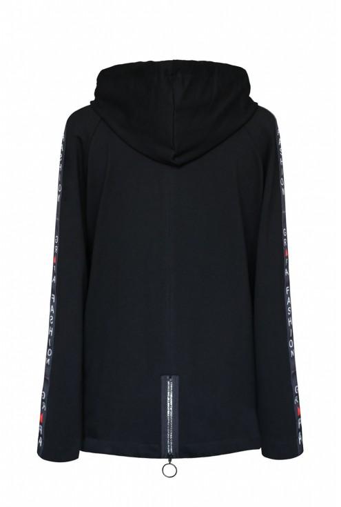 czarna bluza Caroline duże rozmiary