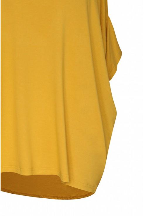 miodowa bluzka basic xxl