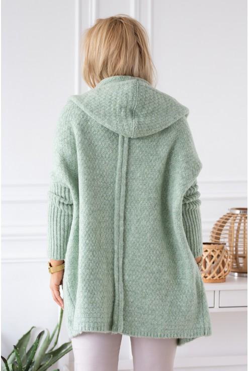 seledynowy sweterek angele