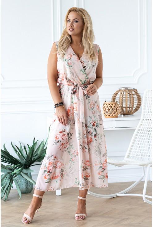 sukienka maxi Emmanuelle xxl