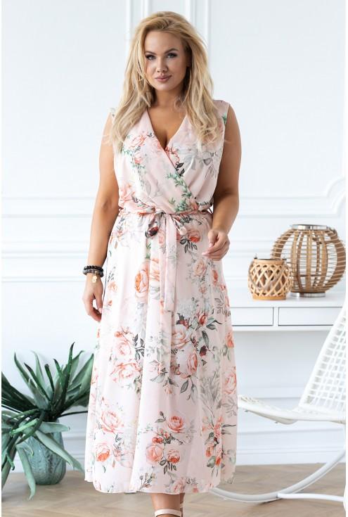 sukienka maxi w kwiatowy wzór Emmanuelle