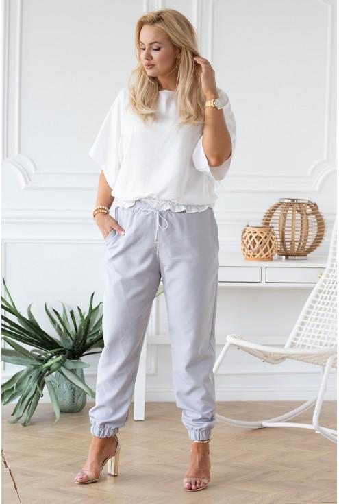 biała bluzka Marielle duże rozmiary