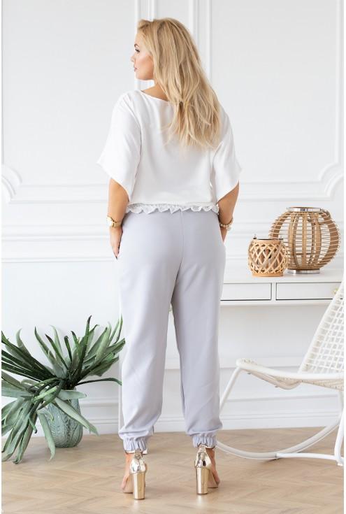 biała bluzka Malvina - tył