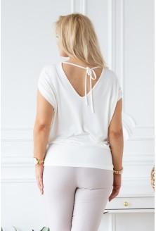 biało kremowa bluzka Dora
