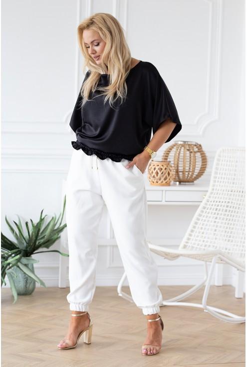 czarna bluzka Marielle - przód