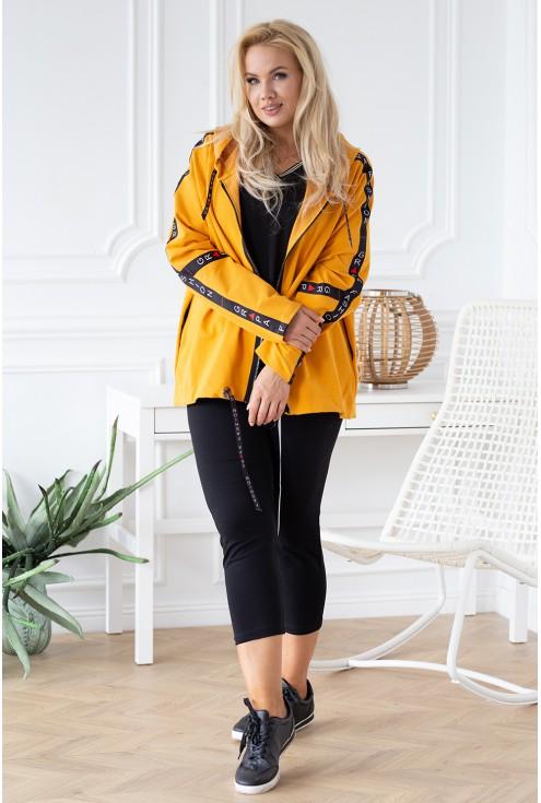 miodowa bluza w sklepie XL-ka.pl moda plus size dla kobiet