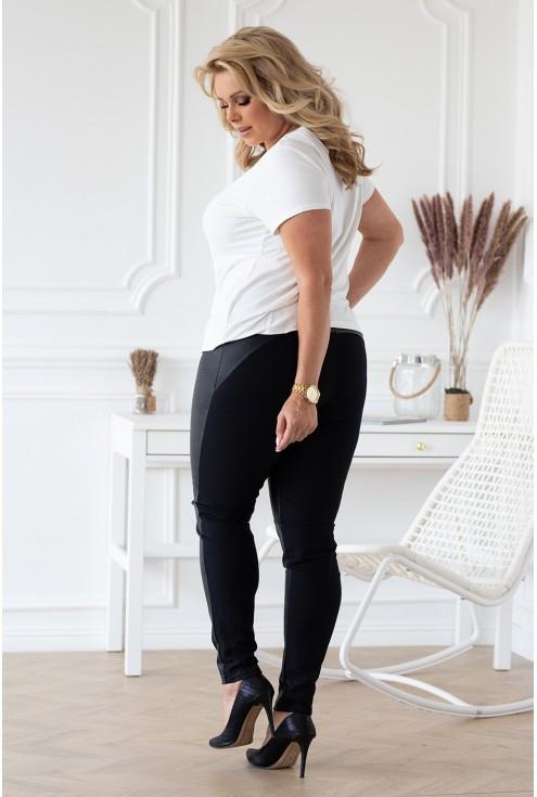 tył czarnych spodni sklep xlka