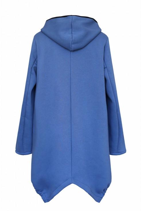 Tył wygodnej damskiej bluzy xxl plus size w sklepie XL-ka.pl