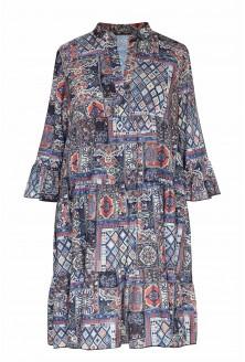 Sukienka boho z perskim wzorem