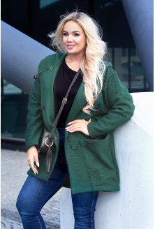 płaszcz xxl w kolorze khaki