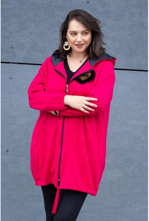 różowa bluza xxl size plus