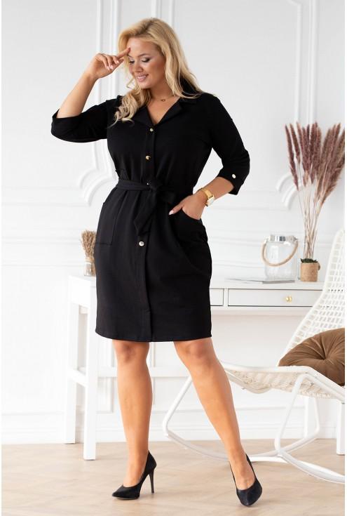 czarna sukienka duże rozmiary plus size