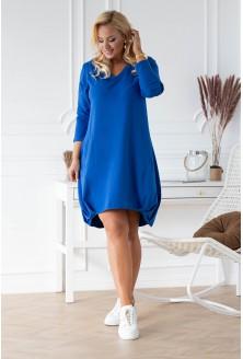 chabrowa sukienka plus size xxl