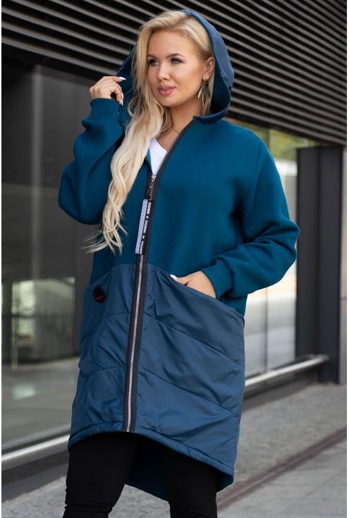 morska bluza plus size xxl