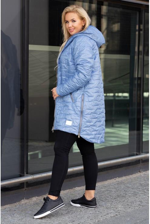 Jasnoniebieska kurtka Scarlett
