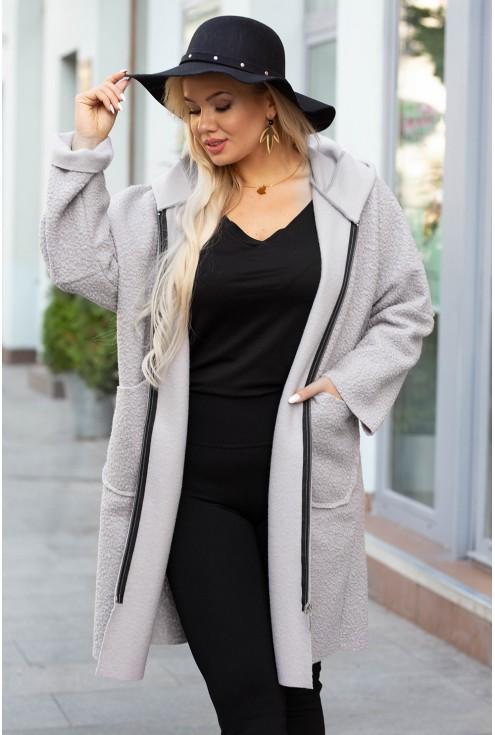 płaszcz damski plus size
