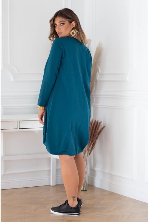 Tył sukienki Nathalie dla kobiet plus size