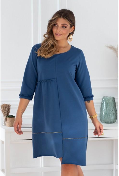 jeansowa sukienka xxl size plus