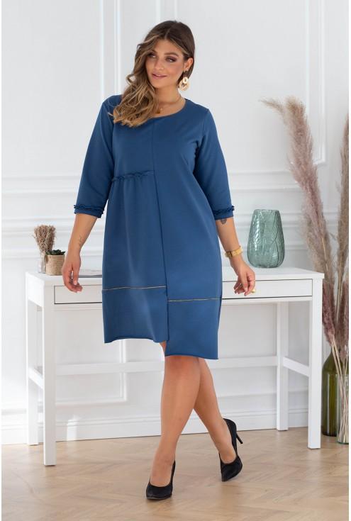 rozkloszowana sukienka plus size xxl