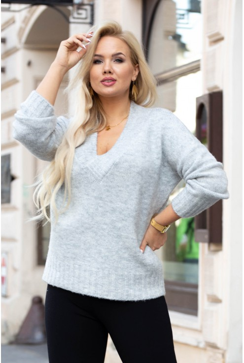 szary sweterek cristin
