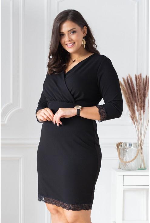 czarna sukienka plus size xxl