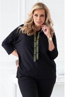 czarna bluza dresowa xxl