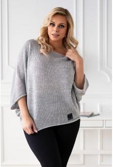 Jasnoszary sweterek Camila