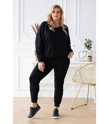 Czarne spodnie dresowe - MICHAELA