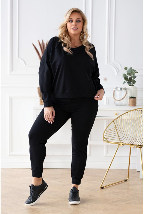 Czarna bluza oversize - Michaela