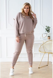 spodnie dresowe michaela plus size 2020