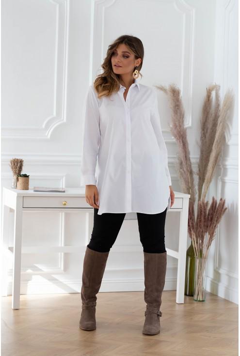 biała koszula wizytowa xxl
