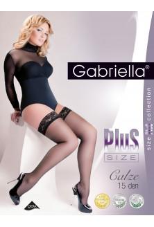 Pończochy samonośne Calze Plus Size gabriella