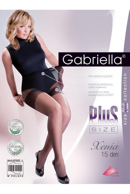 Rajstopy Xenia Plus Size 15 den gabriella