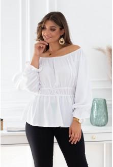 Biała bluzka hiszpanka