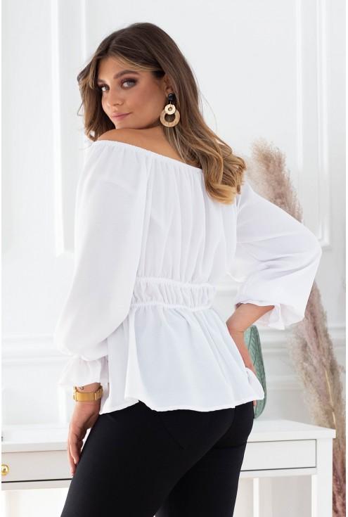 Biała bluzka Luise xxl