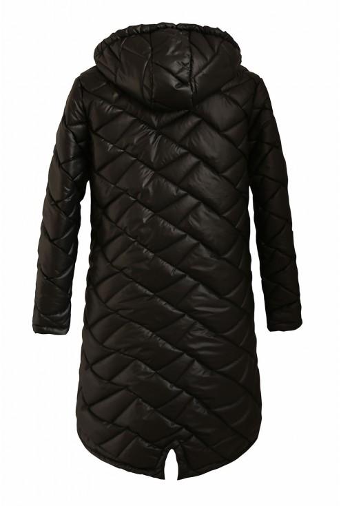 czarna kurtka z kapturem duże rozmiary
