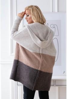 sweterek latte plus size