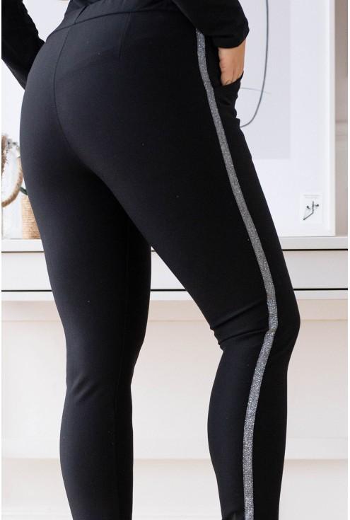 eleganckie spodnie dresowe xxl