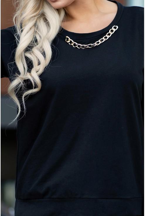 czarna bluza xxl