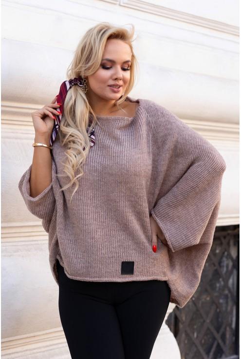 Latte ciepły sweterek  Carina