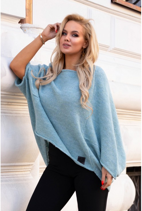 Morski sweterek Carina