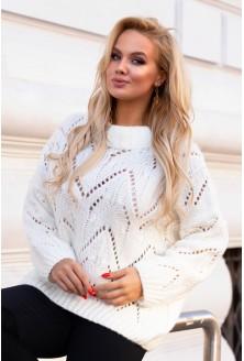 Kremowy sweter Malisa