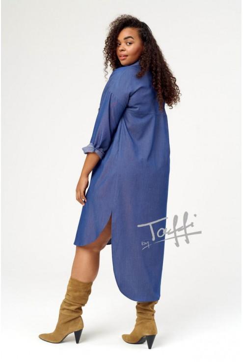 Sukienka koszulowa Revlo xxl