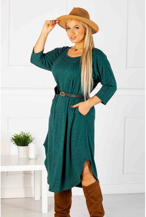 modna sukienka plus size