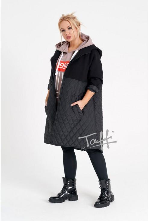 Czarna bluzo-kurtka