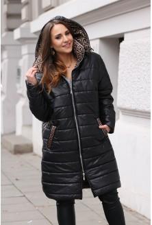 zimowa kurtka z kapturem xxl