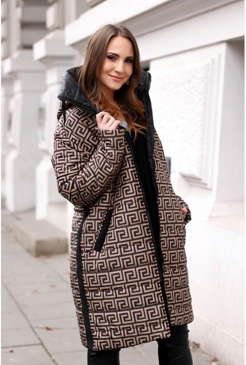 kurtka z wzorkiem xxl