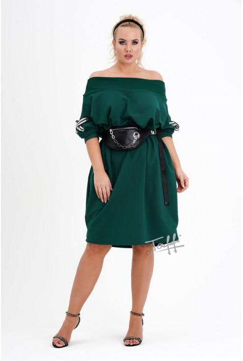 modna sukienka hiszpanka xxl